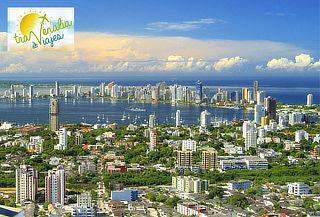 Cartagena 05/04N para DOS - Aéreo + Alojamiento + Desayuno