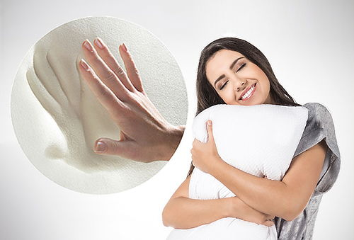¡Duerme a Gusto! Almohada Automoldeable - Antialérgica