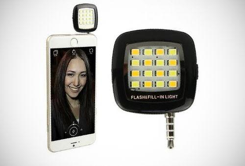 ¡Flash LED para Selfies! - Dekortime