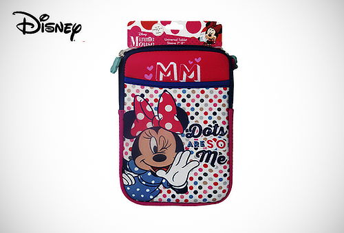 "Funda para Tablet 7"" Marca Disney Minnie ó Mickey Mouse"