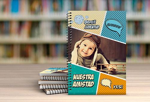 Cuaderno Personalizado de 100 Hojas - Mi Fotofoto