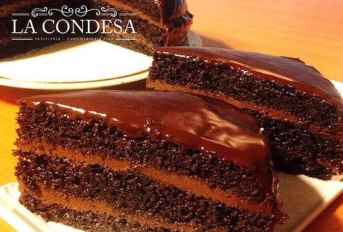 ¡Deliciosa! Torta de Chocolate 60% Puro Cacao