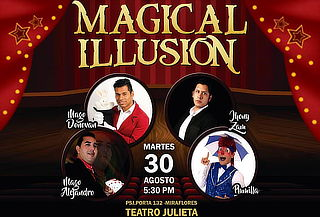 ¡Diviértete! Show de Magia Magical Illusion