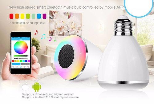 ¡Foco Parlante Bluetooth! Controlable desde tu Dispositivo
