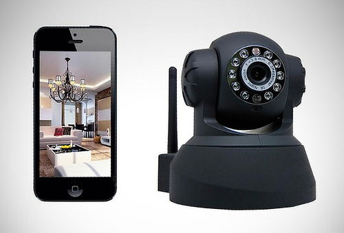 Cámara de Seguridad IP Giratoria, Video, WiFi, SD - 42%
