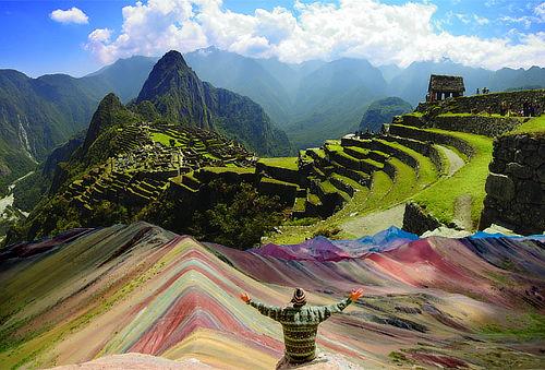 ¡Para Dos! Machu Picchu - Montaña de 7 Colores con Aéreos