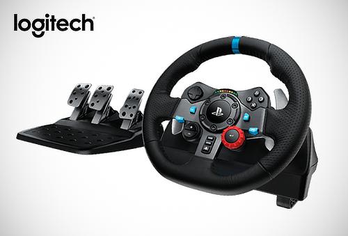 Volante de Carreras Logitech + Pedales para PS3 / PS4 / PC