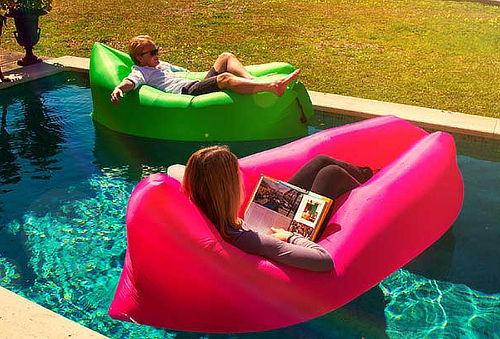 ¡Descanso con estilo! Hamaca Inflable Outdoor - 50%