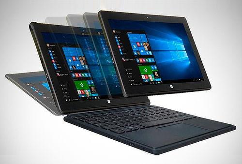 "2 en 1: Tablet Laptop Altron de 10.1"" con Windows 10"