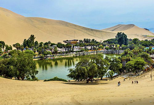 ¡2D/1N en Ica! Hotel + Tour + Sandboarding para 02 APEC