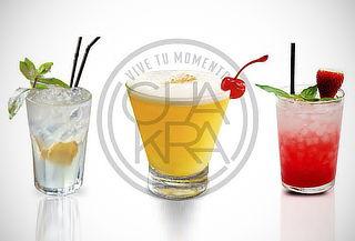 ¡02 Bebidas de la Carta + Piqueo Alita BBQ!