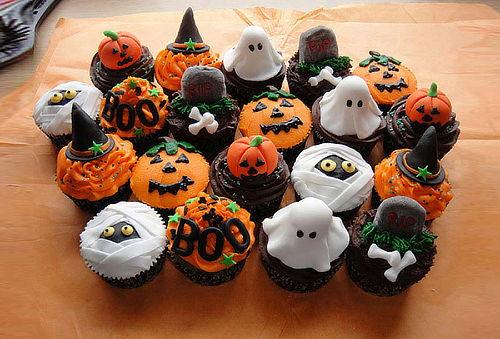 ¡Dulce Halloween! Foto - Torta Personalizada + 6 Cupcakes