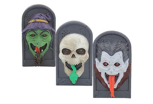 Timbre para Puerta Decorativo de Halloween Modelos Variados