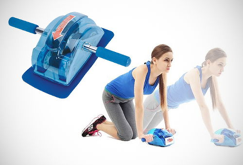 ¡Abdomen Perfecto! Rueda para Abdominales Roller Slide - 44%