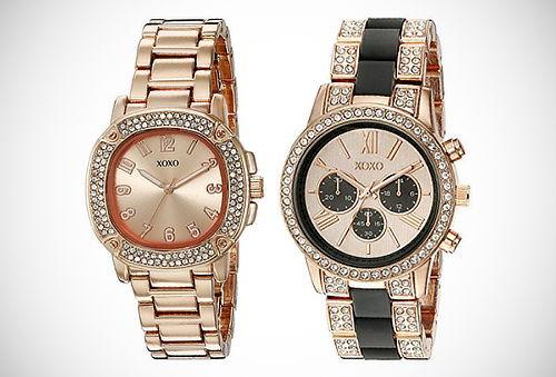 ¡Estilo y Elegancia! Relojes XOXO para Mujer - 50%