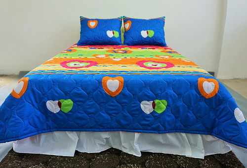 ¡Ya Llega la Primavera! Cobertores Estampados - Arlin Textil