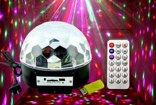 ¡Para tu Fiesta! Bola Parlante con Luces LED