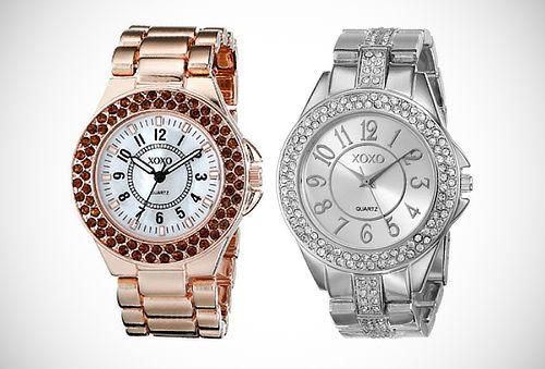 ¡Relojes para Lucir! Colección XOXO: Dorado, Oro Rosa y Más