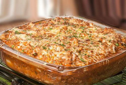 ¡Disfruta! Deliciosa Lasaña + Ensalada Grande y Más