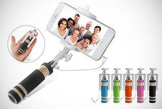 ¡Liquidación! Monopod para Selfies con Cable