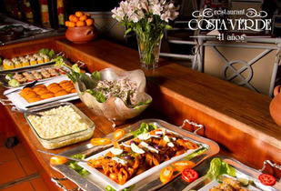 Buffet Restaurante Costa Verde 50%