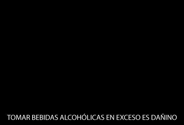 AVISO BEBIDAS ALCOHOLICAS