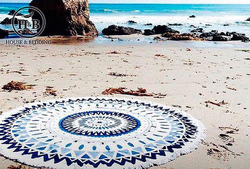 Toalla Playa Microfibra Modelo Mandala H&B