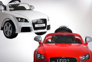 Auto eléctrico a batería Audi Rojo o blanco
