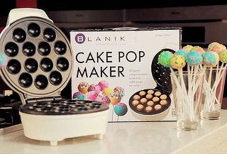 Bolitas de Bizcocho con CakePop Maker de Blanik