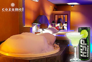 Motel Cozumel: 12 horas + barra abierta