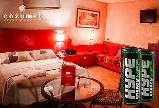 Motel Cozumel: 4 horas + regalos para compartir