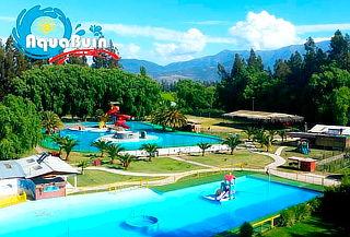 AquaBuin: piscina + acceso zona picnic y juegos