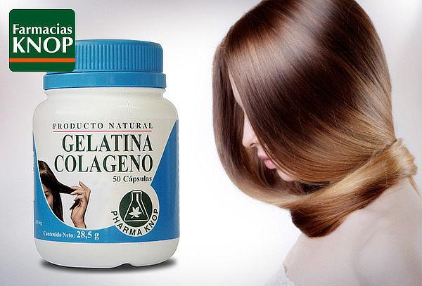 Pack de 2 frascos de Gelatina de Colágeno, KNOP