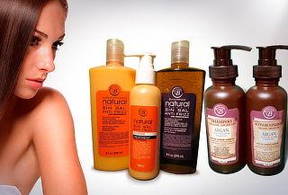 Pack shampoo y acondicionador s/sal + mini pack de argán