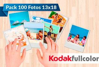 100 Fotos Kodak Express 13x18 cm