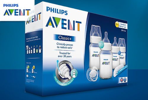 Set Recién Nacido Classic Philips Avent ® 6 Piezas