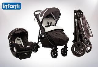Coche + Silla de Auto Travel System Infanti