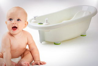 Bañera con Termómetro Incluido para Bebés