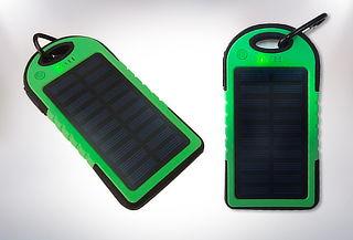 Cargador Solar Portátil Impermeable  5000 MAh USB