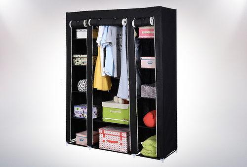 Closet Organizador Armable con Cubierta de Lona