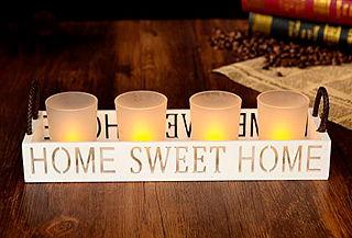 """Set de Velas Decorativas """"Home Sweet Home"""""""