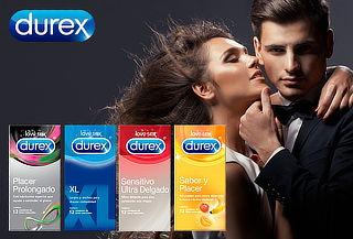Pack de 48 Preservativos Durex Máximo Placer