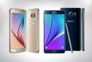 Elige tu Samsung Galaxy de Exhibición