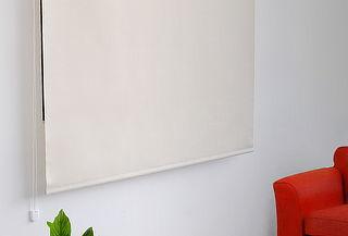 Cortina Roller Translúcida Color Marfil Meriggi