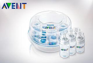 Estirilizador Avent® de Mamaderas para microondas