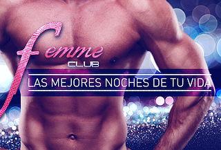 Club Femme: Show, Espumante y Más