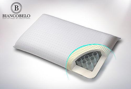 Almohada Marca Biancobelo con Sistema de Resortes