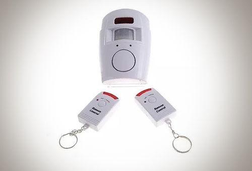 Alarma sensor de movimiento y sonido con 2 controles - Sensores de movimiento con alarma ...
