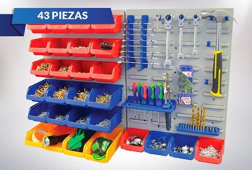 Organizador de herramientas 43 piezas Horusdy