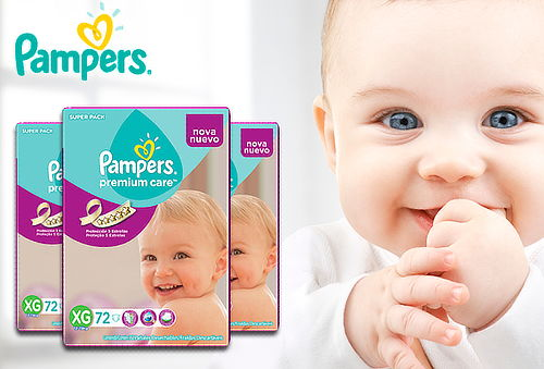 Pack 3 Pampers Premium Care G